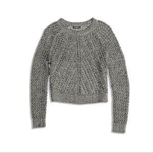 🍀 Lucky Brand Tomorrow Open Knit Sweater Large
